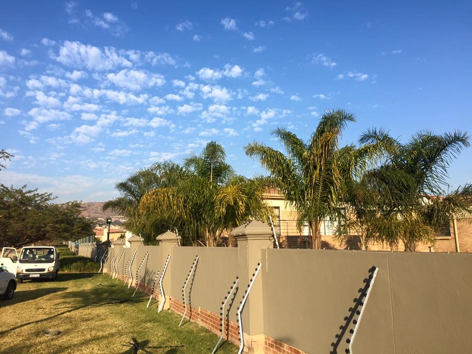 Ruimsig Golf Estate Boundary Fence Impact Fencing